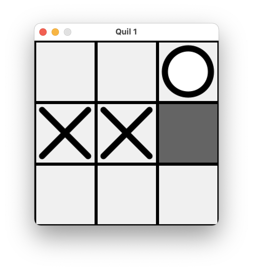 Tic-Tac-Toe UI Prototype